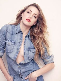 Amber Heard - Liz Collins Photoshoot for Elle (2015)