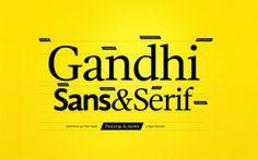Tipografia de Gandhi