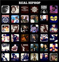 Hip Hop names