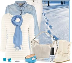 """""""Winter in White Contest #2"""" by angkclaxton on Polyvore"""
