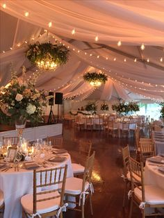 Tent at Middleton Place in Charleston, SC. Florals by Purple.- Tent at Middleton Place in Charleston, SC. Florals by Purple Magnolia. Planning … Tent at Middleton Place in Charleston, SC. Florals by Purple Magnolia. Planning by Lindsay Bishop Events. Cute Wedding Ideas, Wedding Goals, Wedding Planning, Tent Wedding, Dream Wedding, Indoor Wedding, Chic Wedding, Marquee Wedding, Wedding Beauty