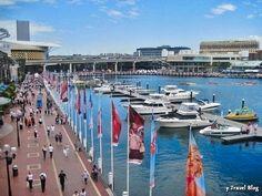 Darling Harbour, Sydney, Australia: http://www.ytravelblog.com/things-to-do-in-sydney-2/