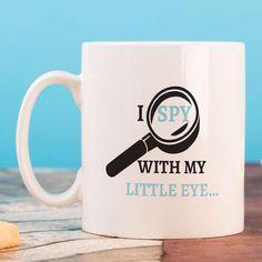 Personalised Mug - I Spy | GettingPersonal.co.uk