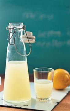 One of Italy's most beloved alcoholic beverages, Limoncello has a unique tart flavour that is absolutely delicious. Drink up! Making Limoncello, Limoncello Recipe, Cocktail Drinks, Cocktails, Lemon Vodka, Glass Of Milk, Tart, Alcoholic Beverages, Favorite Recipes