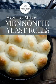 Cooking Bread, Bread Baking, Yeast Bread, Amish Recipes, Baking Recipes, Bread Recipes, Homemade Yeast Rolls, Friendship Bread Recipe, Dinner Rolls Recipe
