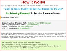What is Ad Hit Profits? Ad Hit Profits is an online revenue sharing program. Created by Charles Scoville, Ad Hit Profits was desinged to be able to pay memebers without neccessarily having to refer and sign people underneeath them. Want to Know How He Gets This Done? Click the Link to Discover How  #adhitprofits #investingonline #safeinvesting #lowrisk #onlinemoney #internetincome #leads #signups #onlinerevenuesharing