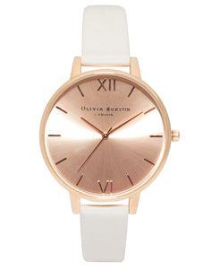 Olivia Burton Big Dial Rose Gold Watch