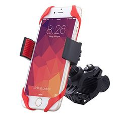 (Bike Mount,jamron Universal Premium Phone Mount for Bike Handlebars,360 Degree Rotation,fits Any Smartphones(iphone, Samsung, Nokia, Motorola...),holds Devices up to 3.75 in Wide(black/red) Review) Buy-Accessories.net