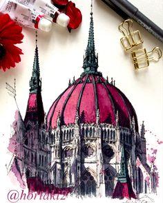 by Akihito Horigome (@horiaki2) в Instagram: «ハンガリー・ブダペスト・国会議事堂 — Hungarian Parliament Building , Budapest