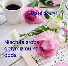 Niech ta środa optymizmu nam doda. Tableware, Pictures, Bonjour, Cool Things, Do Your Thing, Photos, Dinnerware, Dishes, Drawings