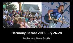 Harmony Bazaar Festival of Women & Song takes place in Lockeport on the last full weekend in July.