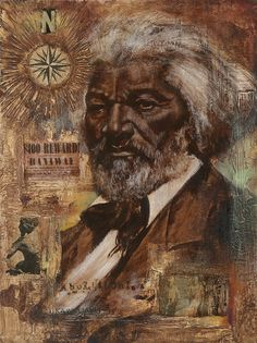 Frederick Douglass (born Frederick Augustus Washington Bailey, (February 1818 – February 20, 1895) an African-American social reformer, orator, writer & statesman. Escaping from slavery, became a leader of the abolitionist movement, gaining note for dazzling oratory & incisive antislavery writing. He was a living counter-example to slaveholders' arguments that slaves lacked intellectual capacity to function as independent American citizens.
