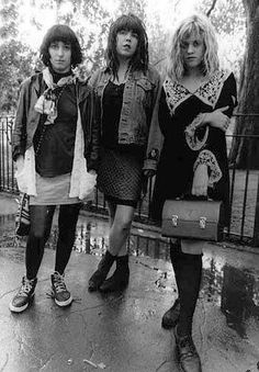 """babes in toyland / here ya go girls! This is a perfect representation of what girls in 90's """"grunge"""" actually look like. this is it, nothing more, nothing less, and not even close to most of what you guy's have been slapping the label on. Oh and we were riot grrrls, boys were grunge, google it."""