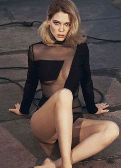 Léa Seydoux by Driu & Tiago for GQ Australia,...