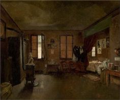 The Artist's Atelier by Jose Ferraz de Almeida Junior