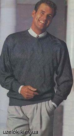 Мужской вязаный свитер. Обсуждение на LiveInternet - Российский Сервис Онлайн-Дневников