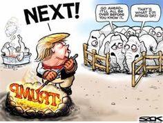 Political Cartoons of the Week: Trump Brand