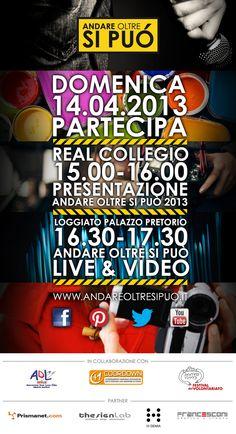 """Presentazione Premio """"Andare oltre si può"""" 2013 - 14.04.2013, Lucca"""
