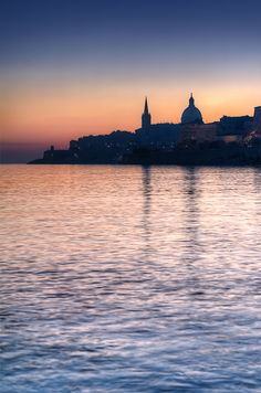 Romantic view of #Valletta skyline. Can never get enough of this amazing scene. What if you could wake up to this every day? http://www.maltasothebysrealty.com/eng/sales/detail/352-l-3138-g2nt76/seafront-designer-furnished-apartment-sliema-sv