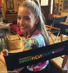 This is me behind the scenes of Nicky Ricky Dicky and Dawn. if you haven't seen the episode I would recommend watching it! ~Kenzie