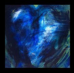 Art Home Decor Abstract Painting Secrets Heart by GirlBurkeStudios, $495.00