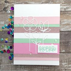 Sharp Designs End Of Spring, Hey Gorgeous, Simon Says Stamp, Copic Markers, I Card, Card Stock, Challenges, Concept, Colours