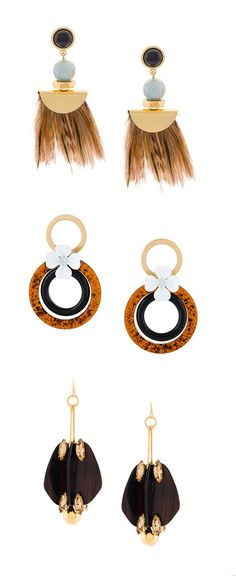 Explore new season earrings on Farfetch