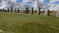 Estrutura que reúne 90 blocos teria sido erguida há 4,5 mil anos pelos mesmos construtores do famoso monumento