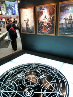 TAF 2009: FULLMETAL ALCHEMIST featured in Aniplex booth with gigantic Gate and life-sized statue - GIGAZINE