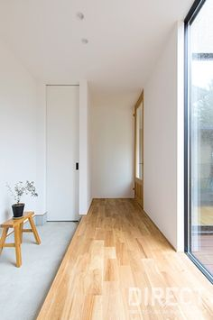 T HOUSE(住宅)|施工事例 « DIRECT(ディレクト)|石川県白山市の建築設計事務所 Room Interior Design, Cafe Interior, Muji Style, Natural Interior, Through The Window, Japanese House, Home Living Room, Architecture, Modern