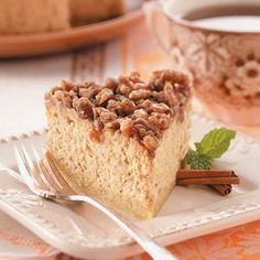 Sweet Potato Pecan Cheesecake Recipe | Taste of Home Recipes