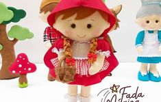 Kit Bebe, 1st Birthday Banners, Bouquet, Teddy Bear, Toys, Animals, Big Bad Wolf, Red Riding Hood, Handmade Products