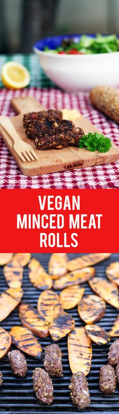 Try these vegan minced meat rolls for your next picnic or vegan barbecue and impress even your non-vegan friends! This popular Romanian recipe turned vegan will surely become your favorite!