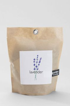 Lavender garden in a bag. Going to need this, basil, and mini-snapdragons.