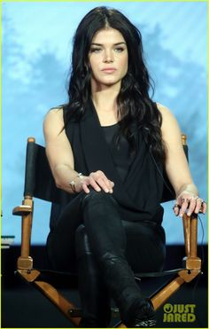 Marie Avgeropoulos at the The 100' Tease Season Three Press TCA Winter Tour 2016
