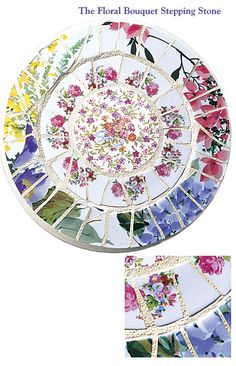 The Floral Bouquet Stepping Stone from Cocci & Idee