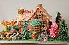 Hansel & Gretel Gingerbread House | Flickr - Photo Sharing!