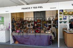 Compañeros de #EsculturasMorla en la Feria de Artesanía de Valladolid