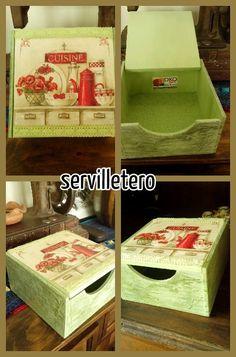 Servilletero vintage
