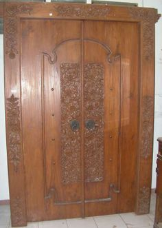 bali doors for sale - Google Search & Balinese Doors - hung like barn doors for library/ guest room ... Pezcame.Com