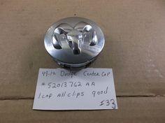 Dodge Ram 1500 Dakota Charger wheel center cap p/n  05290814AA hubcap cover I33 #dodgeoem