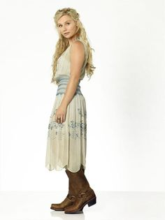 "NASHVILLE - ABC's ""Nashville"" stars Clare Bowen as Scarlett O'Connor. (ABC/Bob D'Amico)"