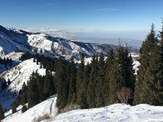 Medeu Valley - Almaty Kazakhstan, Mountains, Nature, Travel, Naturaleza, Viajes, Trips, Nature Illustration, Outdoors
