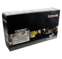 Lexmark C522N/C524 Series Return Programme Toner Cartridge Black C5220KS - Printer Toner