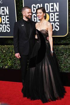 The Golden Globe Awards 2018: Justin Timberlake, Jessica Biel & More des couples les plus chauds et cinématographiques de la télévision.