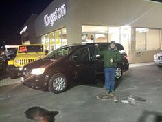 The Guertin family picking up their new Dodge Grand Caravan. Enjoy and Happy New Year!!  www.kingstondodge.com
