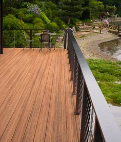 TimberTech Tropical Decking Collection in Antigua Gold -- Design the deck of your dreams at Meek's Lumber & Hardware!
