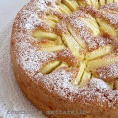 Torta di mele morbidissima | Formine e Mattarello