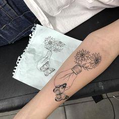 Tattoo elephant cute tat Ideas for 2019 Mini Tattoos, New Tattoos, Small Tattoos, Body Art Tattoos, Tatoos, Tattoos To Cover Scars, Cover Tattoo, Tattoo Life, Piercing Tattoo
