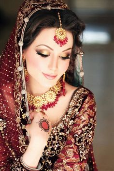 Pakistani Indian Bridal Makeup- ceremony